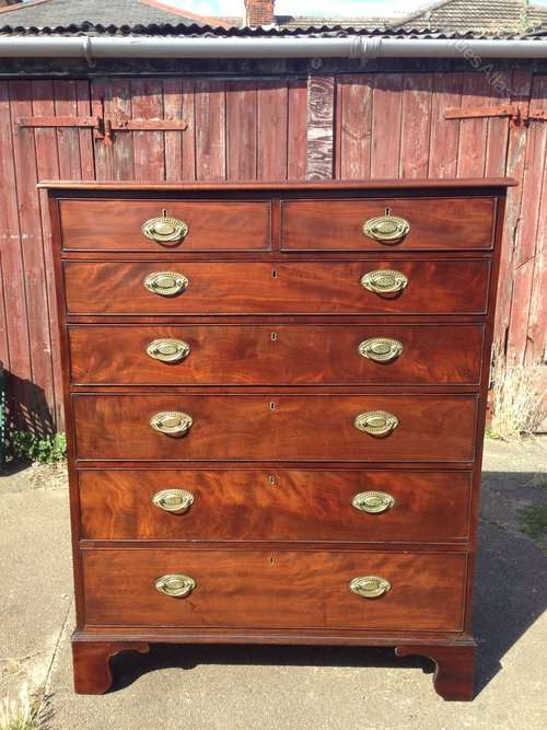 A Fine QUality George 3rd Gentleman's Chest