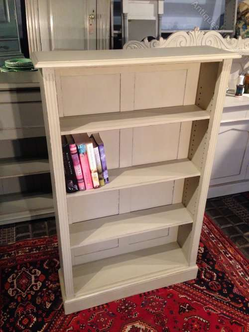 Edwardian Painted Oak Bookcase