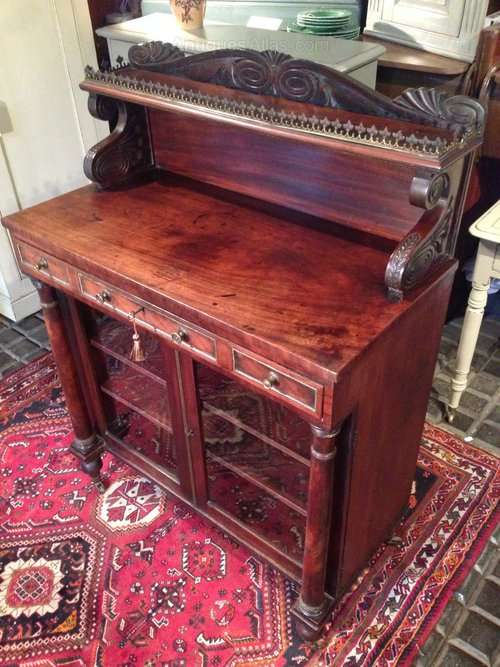 George IV Mahogany Side Cabinet