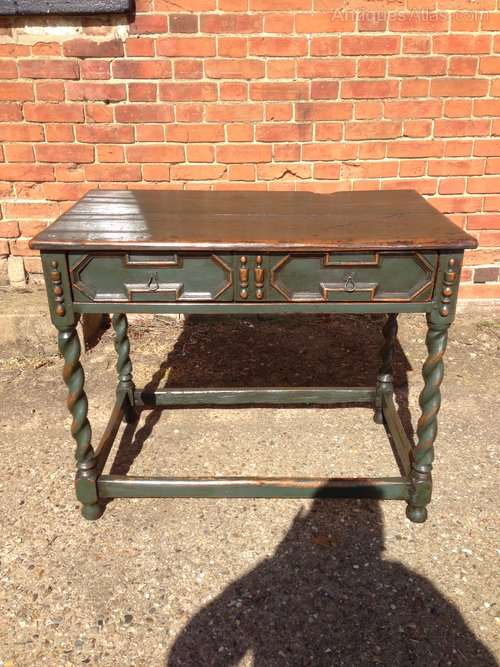 Late 19th Century Jacobean Style Table