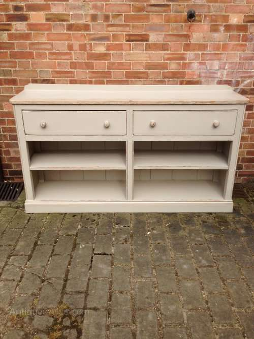 Late 19th Century Painted Cottage Dresser Base