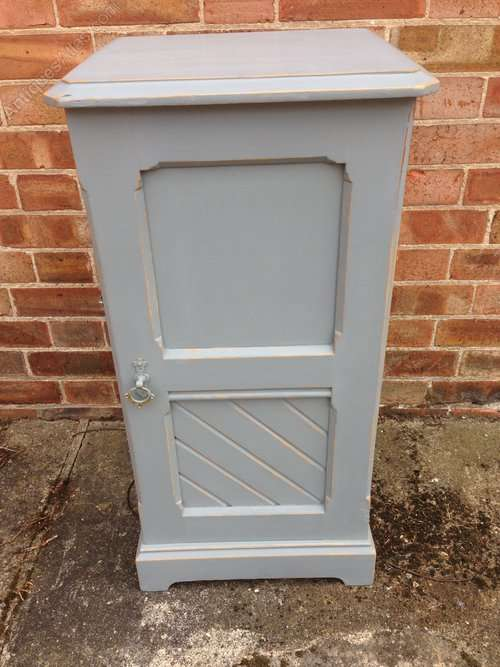 Late 19th Century Painted Pine Cupboard