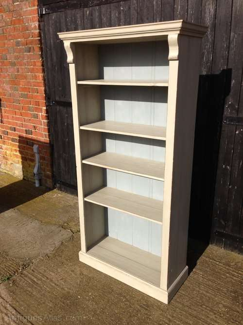 Late Victorian Painted Pine Bookcase
