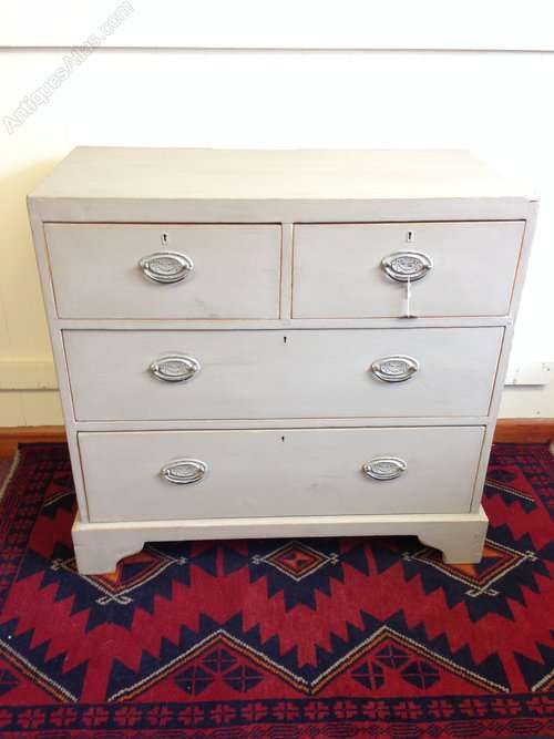 Victorian Painted Pine Cottage Chest