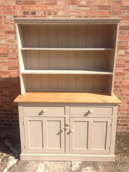 Victorian Painted Pine Country Dresser