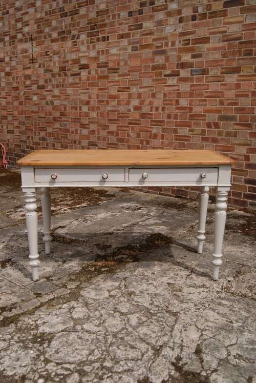 Mid Victorian Painted Cottage Table