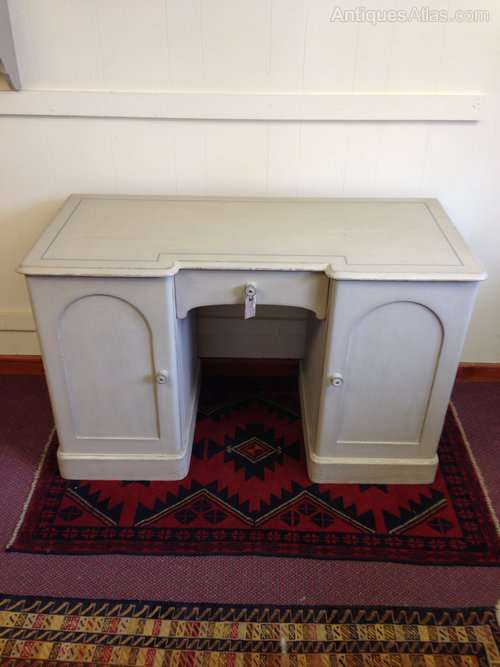 Victorian Painted Pine Dressing Desk