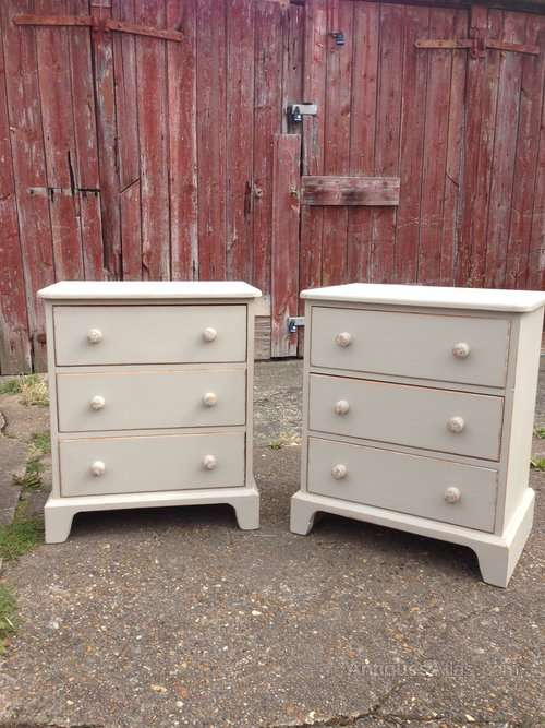 Pair Of 1960's Bedside Drawers