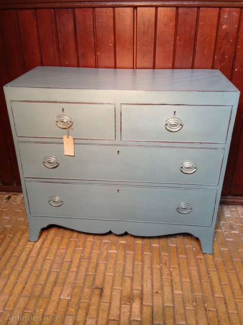 Regency Painted Mahogany Chest