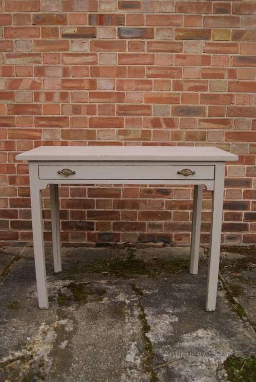 Regency Painted Mahogany Side Table