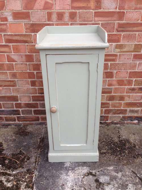Victorian Painted Pine Small Cupboard