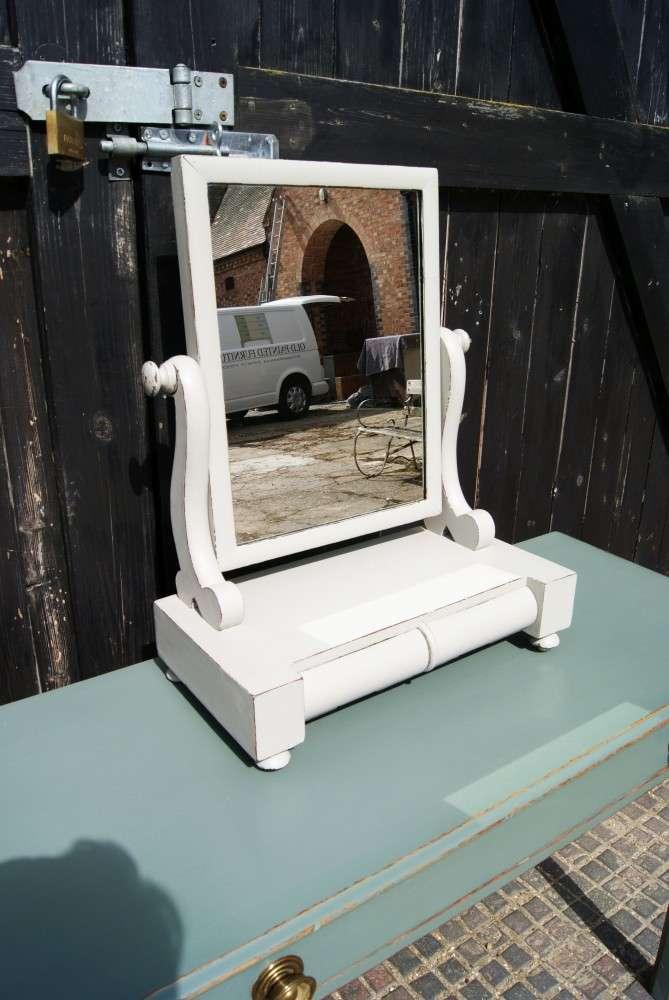 Mid Victorian Painted Mahogany Mirror