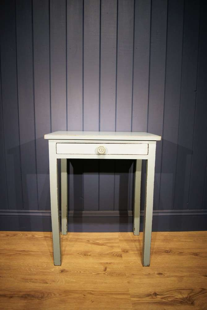 Regency Painted Mahogany Small Table
