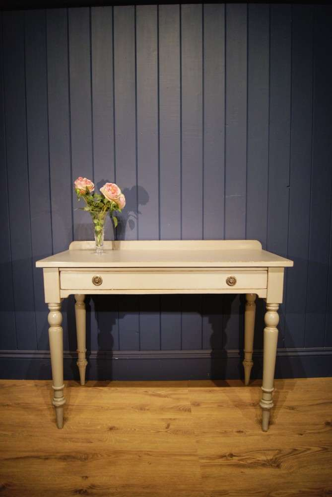 Mid 19th Century Painted Dressing Table