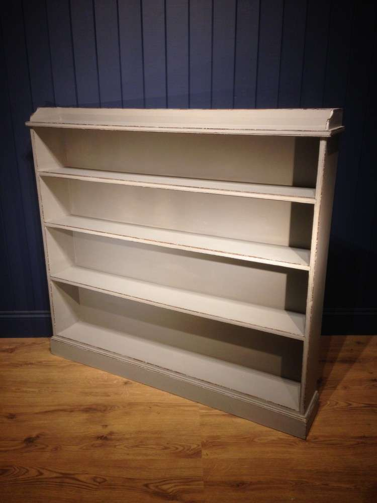 Victorian Painted Pine Bookcase2