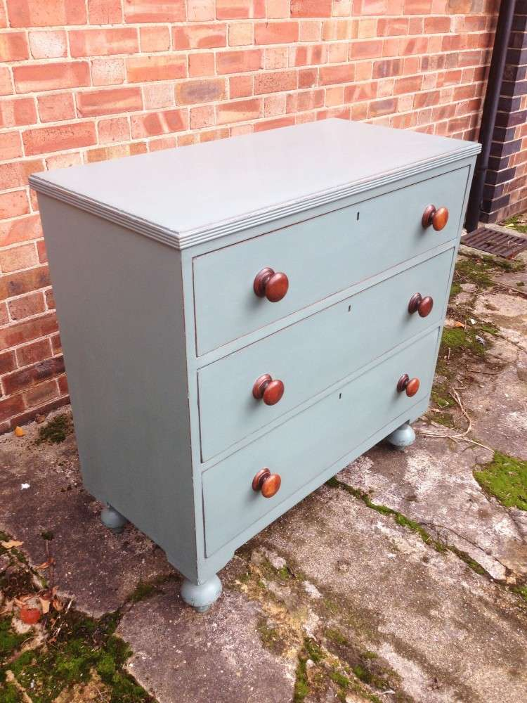 Victorian Painted Chest Of Drawers1