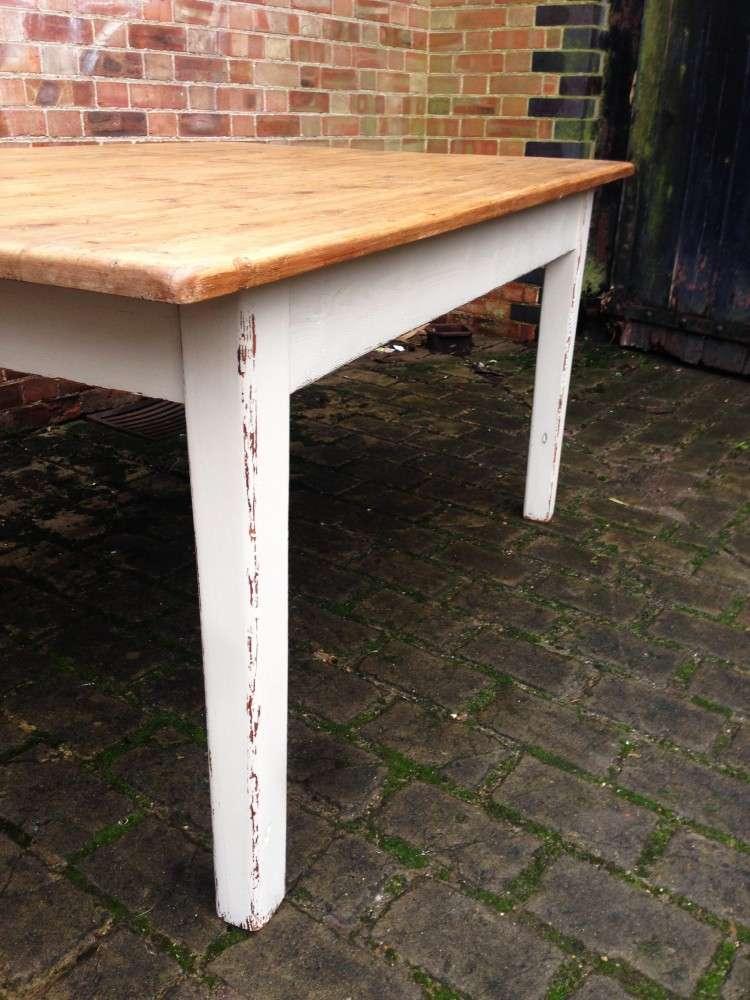 Mid 19th Century Cottage Kitchen Table2