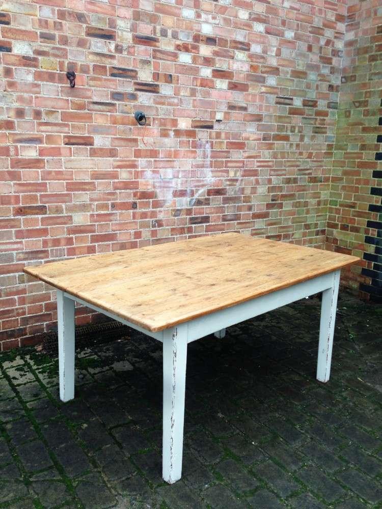 Mid 19th Century Cottage Kitchen Table3
