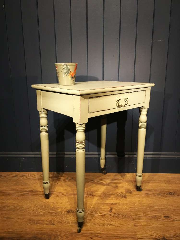 Early 19th Century Painted Mahogany Side Table1