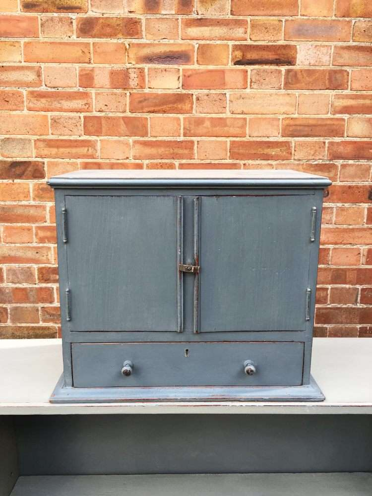 Edwardian Painted Mahogany Table Cabinet