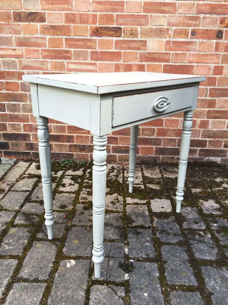 Victorian Painted Mahogany Side Table1