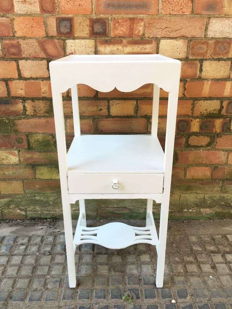 Regency Painted Mahogany Square Washstand