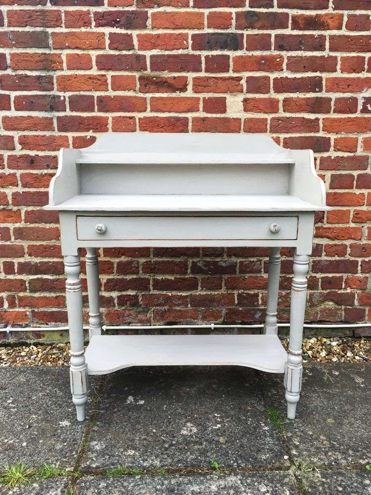Victorian Painted Pine Washstand