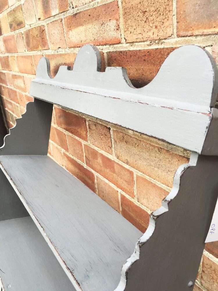 Edwardian Painted Oak Wall Cabinet3