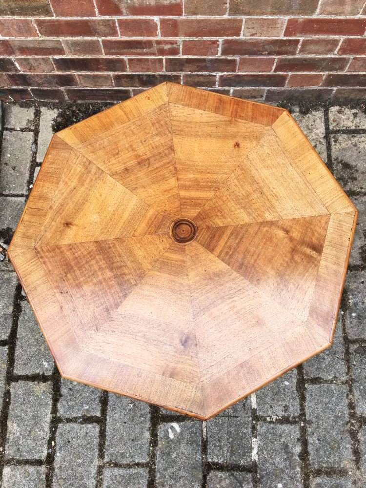 William IV Rosewood & Walnut Occasional Table3