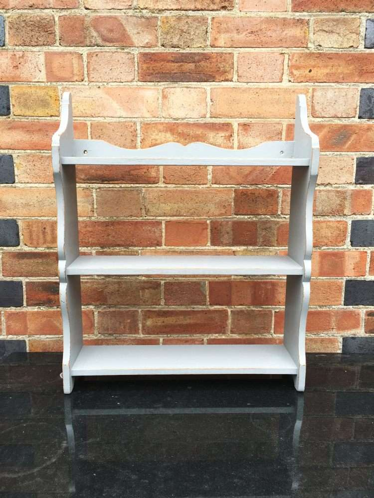 Victorian Painted Pine Small Hanging Shelves
