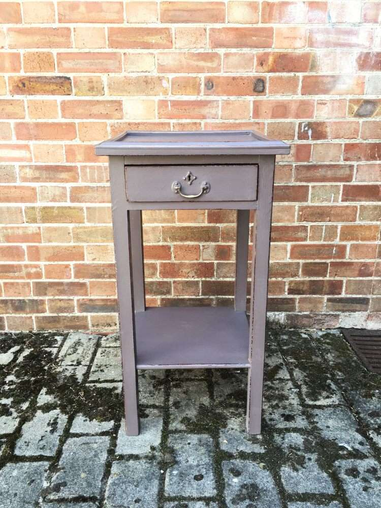 Edwardian Painted Pine lamp Table