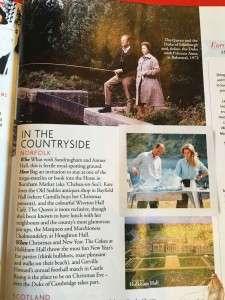 Tatler Magazine Mention