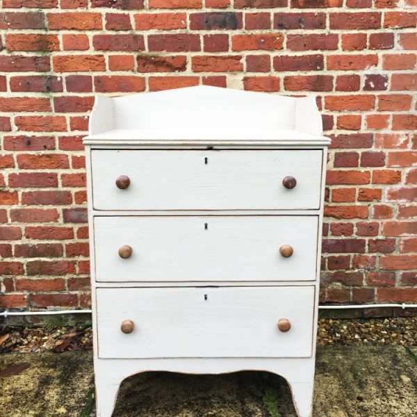 Regency Painted Pine Country Dresser Chest3