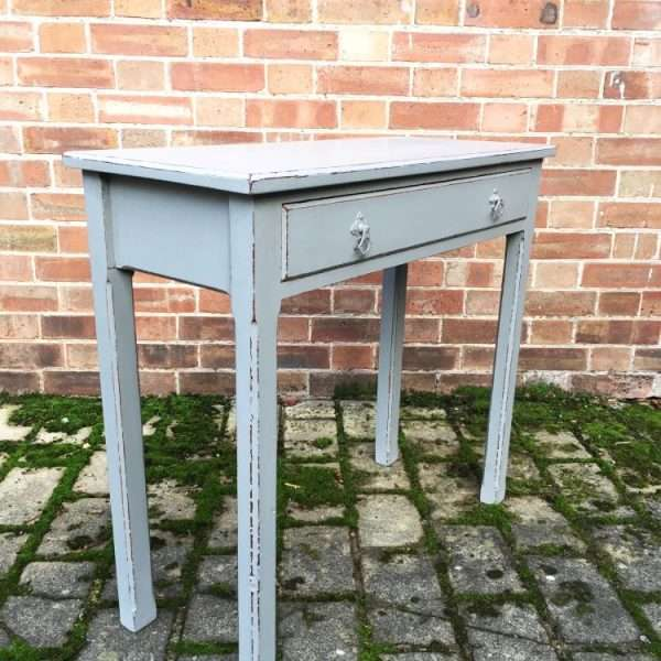 Mid Victorian Painted Mahogany Side Table1