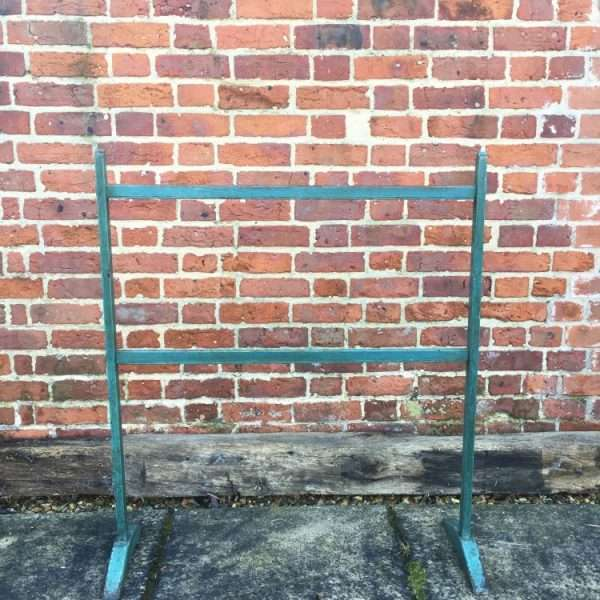 Early Victorian Painted Pine Clothes Stand