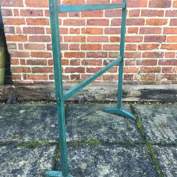 Early Victorian Painted Pine Clothes Stand1