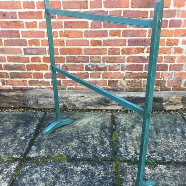 Early Victorian Painted Pine Clothes Stand2