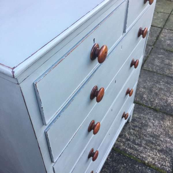 Late Georgian Painted Mahogany Chest Of Drawers3