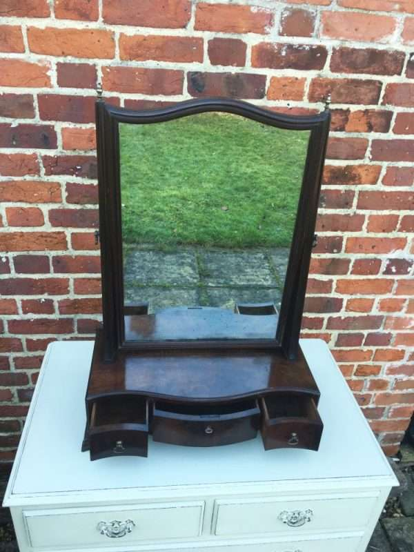 George III Mahogany Toilet Mirror2