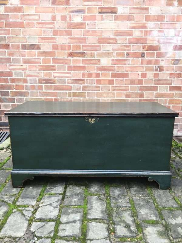 Regency Painted Pine Box Coffer4