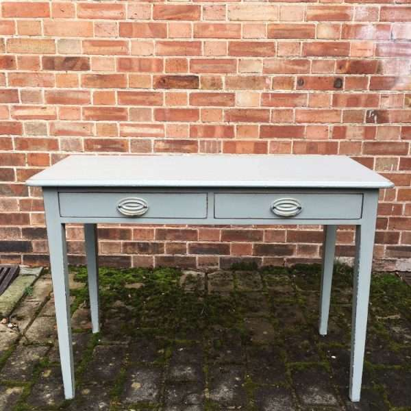 Mid Victorian Painted Mahogany Side Table3