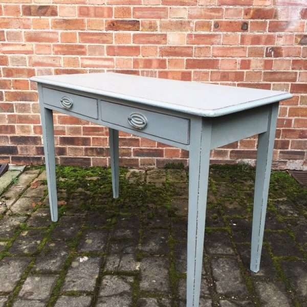 Mid Victorian Painted Mahogany Side Table2