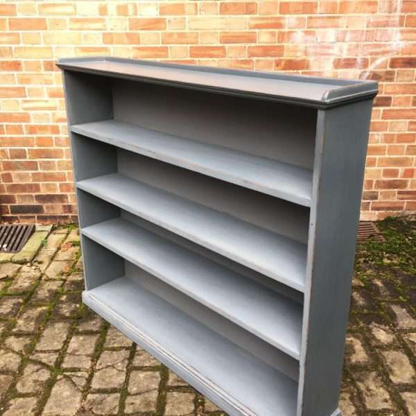 Late Victorian Painted Pine Bookshelves1