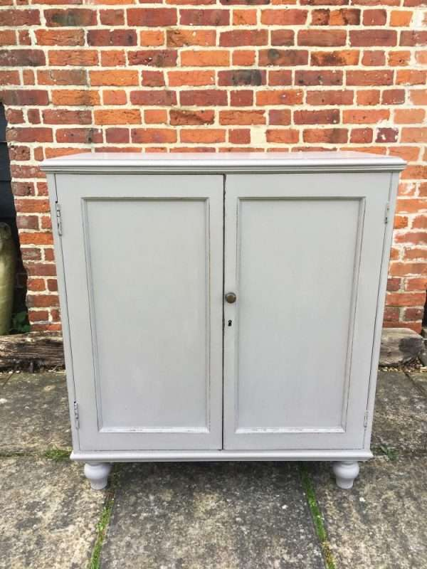 Regency Painted Mahogany Cupboard