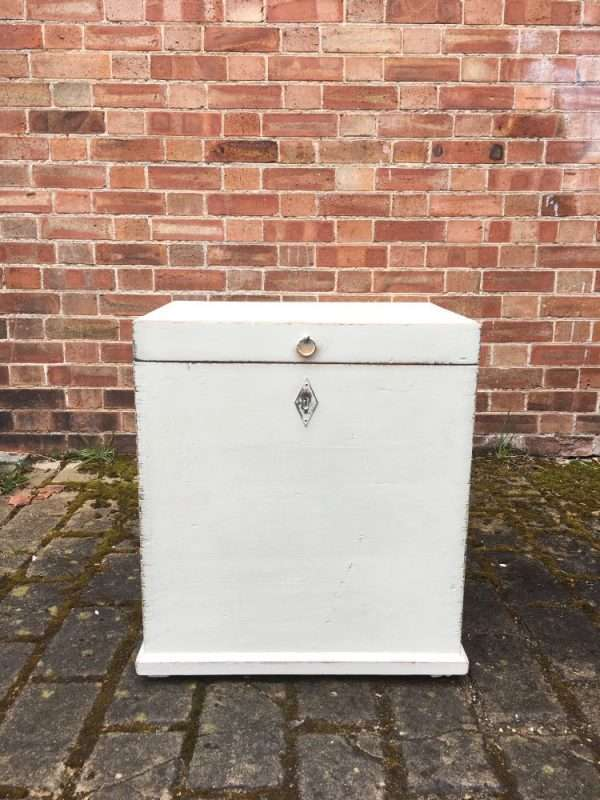 Edwardian Painted Pine Storage Box3