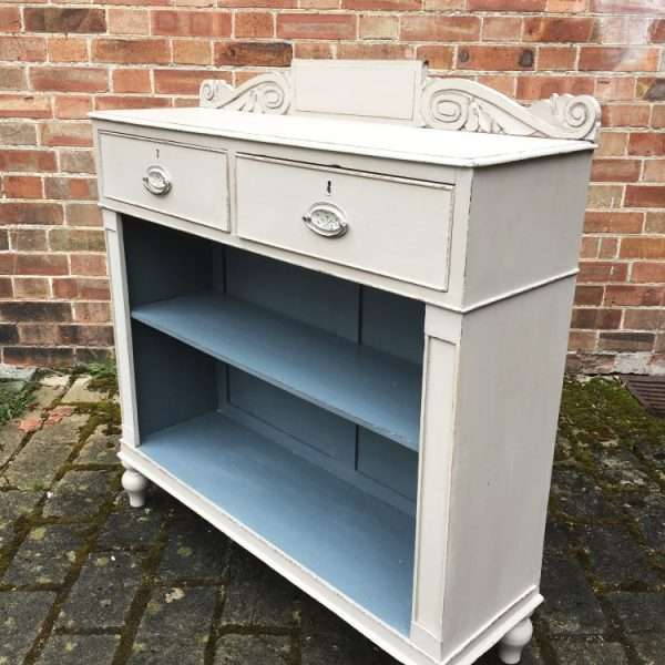 William IV Painted Mahogany Side Cabinet1