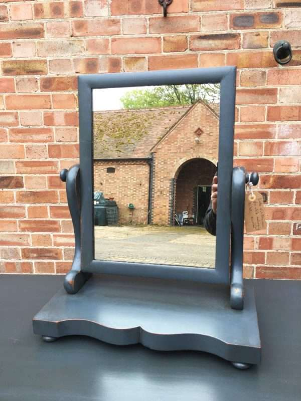 Victorian Painted Mahogany Swing Mirror1