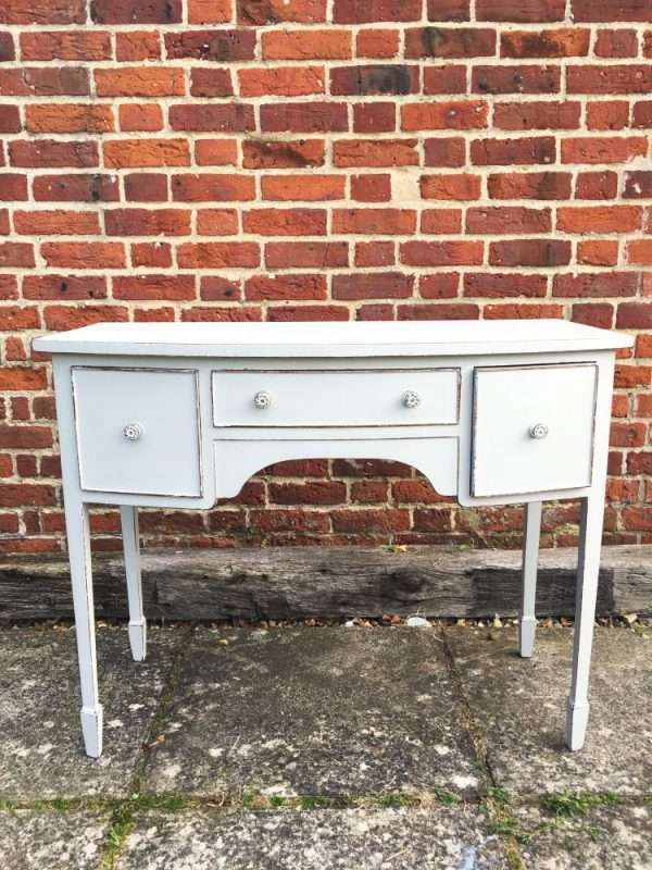 Edwardian Painted Mahogany Dressing Table4