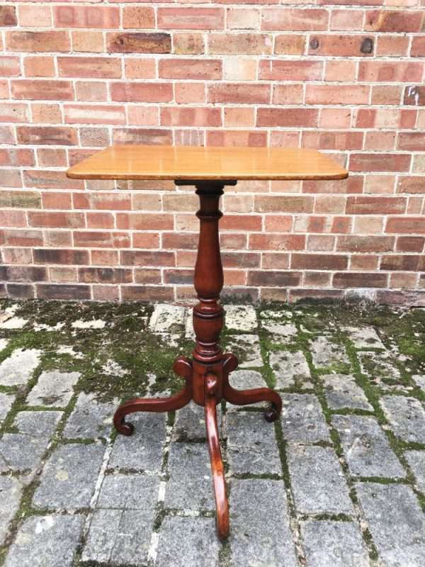 William IV Mahogany Tripod Table4