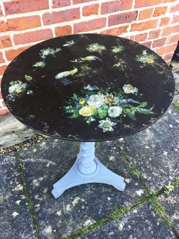 William IV Painted Rosewood Occasional Table